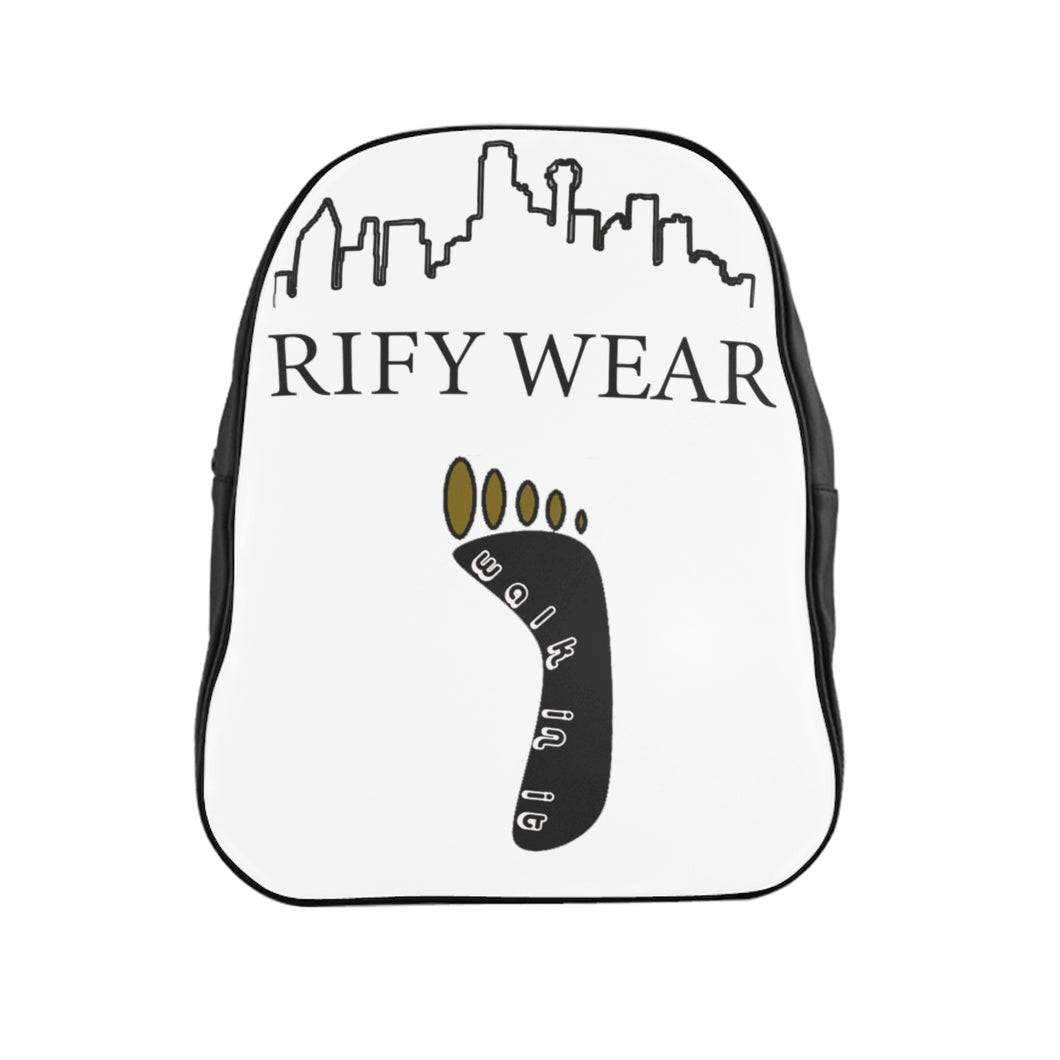 RIFY WEAR Skyline School Backpack
