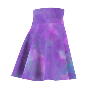Water Flower Missy Skater Skirt by RIFY WEAR