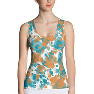 Autumn Breeze Missy Tank Top by RIFY WEAR