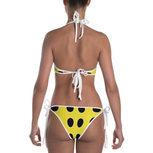 Load image into Gallery viewer, Yellow Lady Bug Dotted Bikini by RIFY WEAR