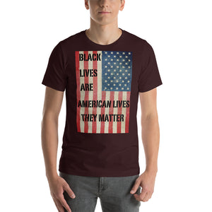 Black Lives Are American Lives Tee