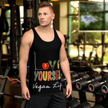 Load image into Gallery viewer, Vegan Life Unisex Tank Top