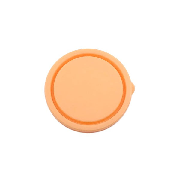 Round Nesting Container Lid - Apricot