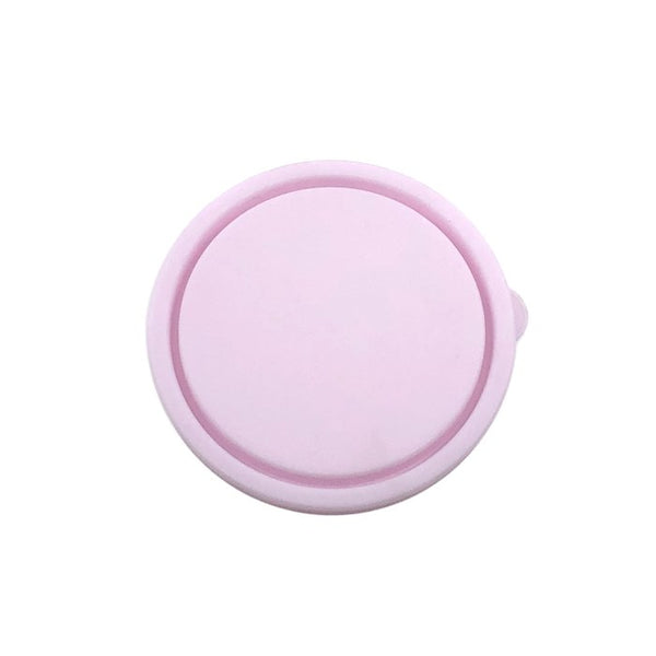 Round Nesting Container Lid - Blush