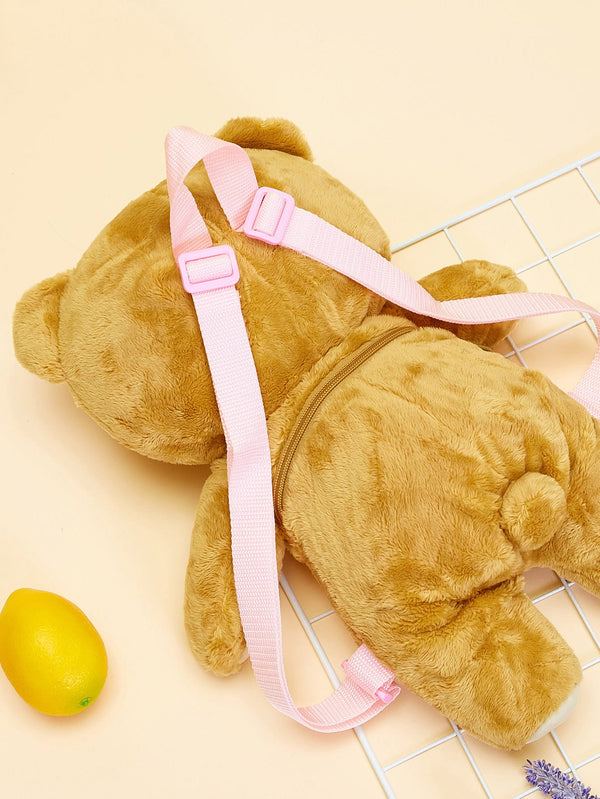 Kids Bear Shaped Cartoon Backpack