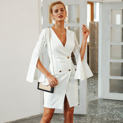 Split Blazer Elegant Dress