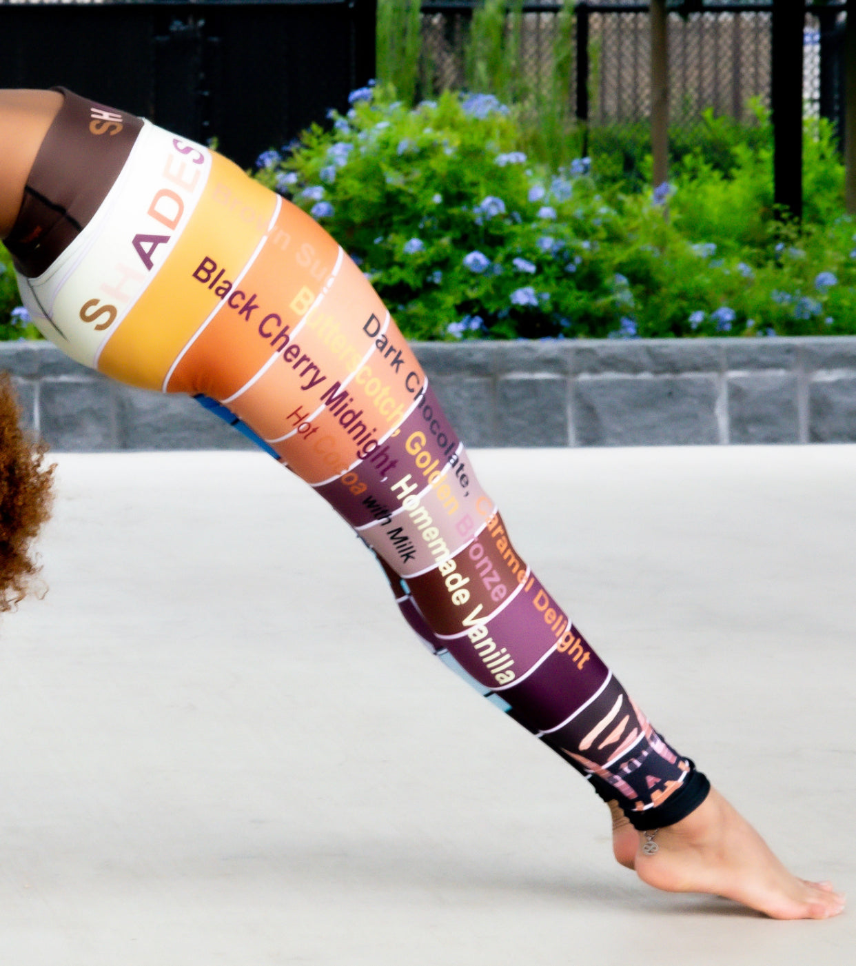 La Vita Cocoa Yoga Leggings