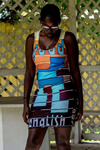La Vita Cocoa Sublimation Cut & Sew Dress