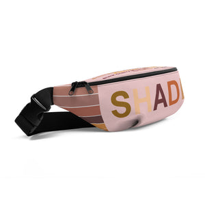 Remember the Shades Breast Cancer Awareness Fanny Pack