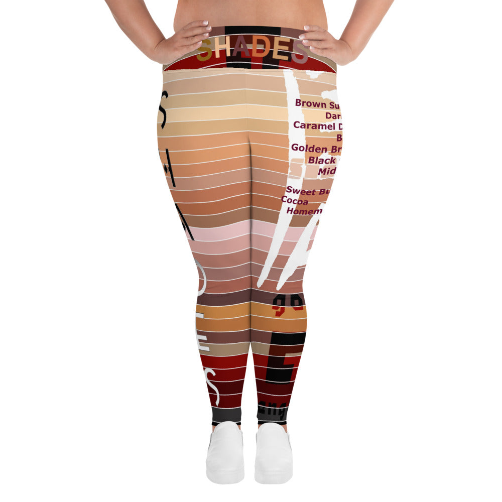 Shades All-Over Print Plus Size Leggings