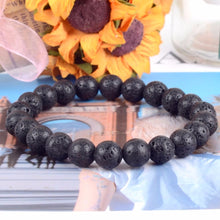 Load image into Gallery viewer, Natural Volcanic Chakra-Stone Adjustable Bracelet