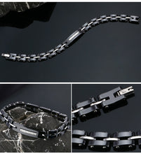 Load image into Gallery viewer, Ceramic Rhinestone Bracelet