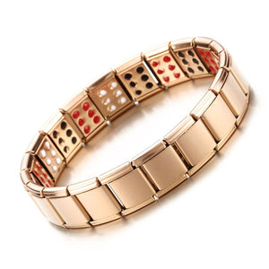 Stainless Steel Arthritis Therapy Magnetic Bracelet