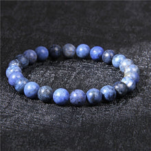 Load image into Gallery viewer, Lapis Lazuli Sodalite Elastic Bracelet