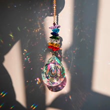 Load image into Gallery viewer, Hanging Crystal Prism Sun-Catcher