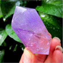 Load image into Gallery viewer, Natural Amethyst Quartz Crystal
