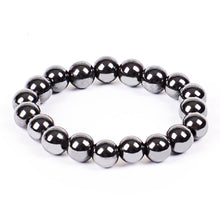 Load image into Gallery viewer, Hematite Magnetic Therapy Bracelet