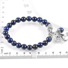 Load image into Gallery viewer, Chakra Natural-Stone Lapis Lazuli Bracelet