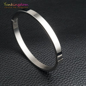 Titanium Steel Bangle
