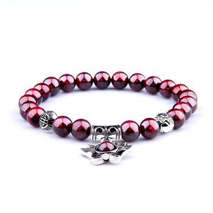 Natural Garnet Red Wine Bracelet