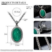 Load image into Gallery viewer, Turquoise Vintage Pendant