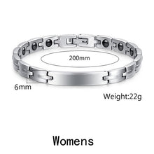Load image into Gallery viewer, Surgical Steel Titanium Therapy Bracelet for Carpal Tunnel & Arthritis