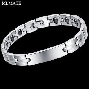 Surgical Steel Titanium Therapy Bracelet for Carpal Tunnel & Arthritis
