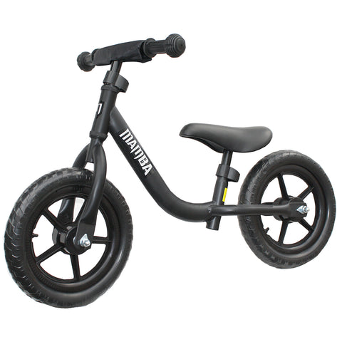 "Mamba Sport 12"" Balance Bike Black"