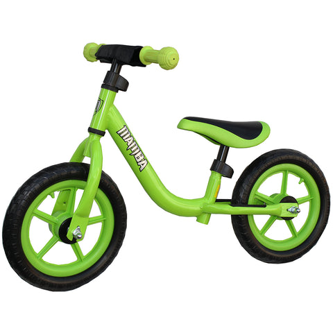 "Mamba Sport 12"" Balance Bike Green"