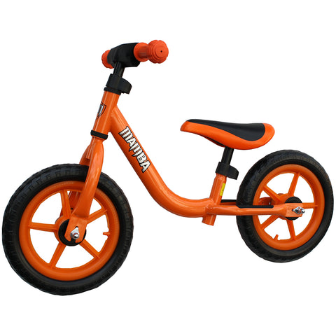 "Mamba Sport 12"" Balance Bike Orange"