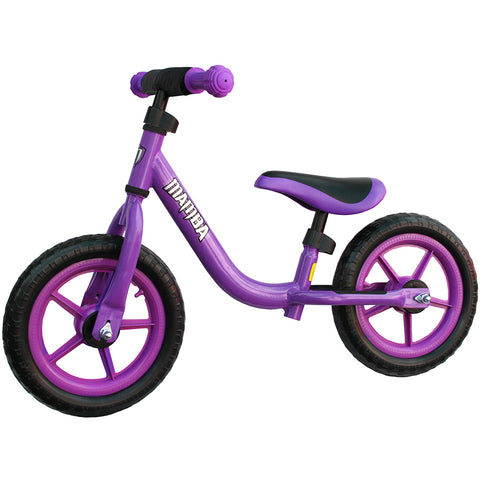 "Mamba Sport 12"" Balance Bike Purple"