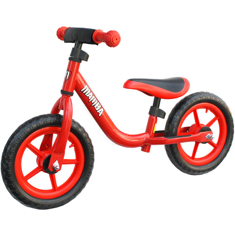 "Mamba Sport 12"" Balance Bike Red"