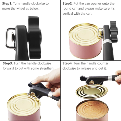 How to use the Can Opener in 4 Easy Steps
