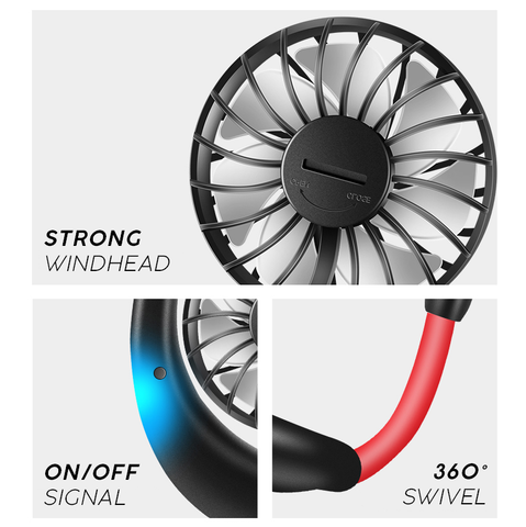 Lazy Neckband Fan - Strong Store