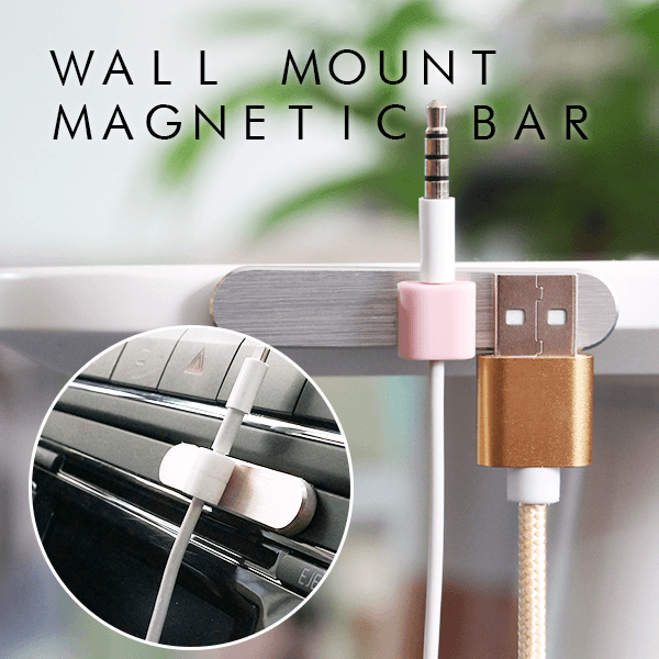 Wall Mount Magnetic Bar