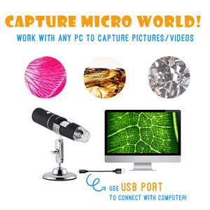 MagniKid™ USB Kid Learning Microscope