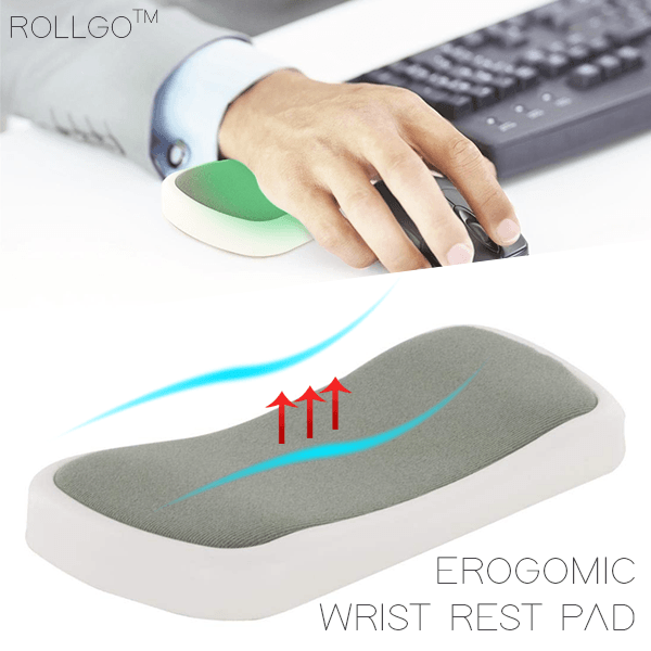 RollGo™ Scrollable Ergonomic Wrist Rest Pad