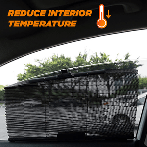 Auto Retractable Car Window Curtain
