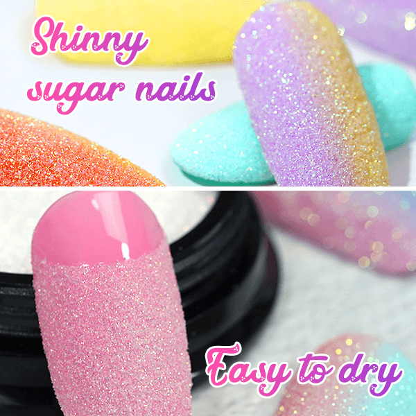 Nailey™ 3D Holographic Nail Sugar