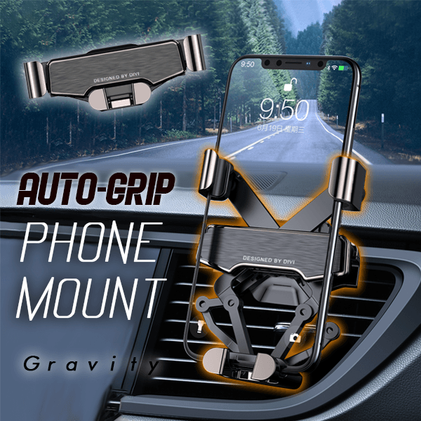 Auto-Grip Phone Mount