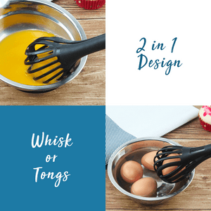 KitchVille™ Multifunction Egg Whisk