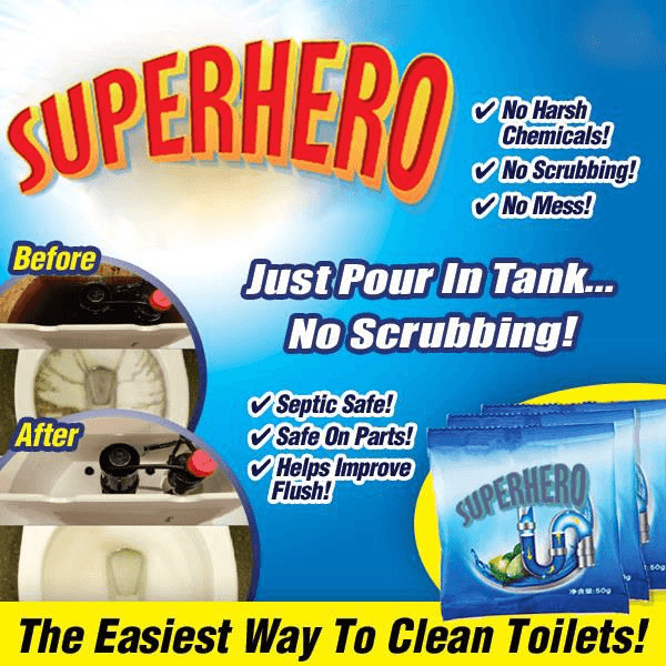 Toilet Tank Cleaner (3 PACKS)