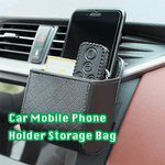 Car Mobile Phone Holder Storage Bag