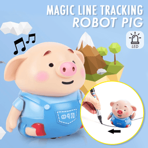 Magic Line Tracking Robot Pig