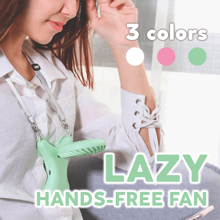 Lazy Hands-Free Fan