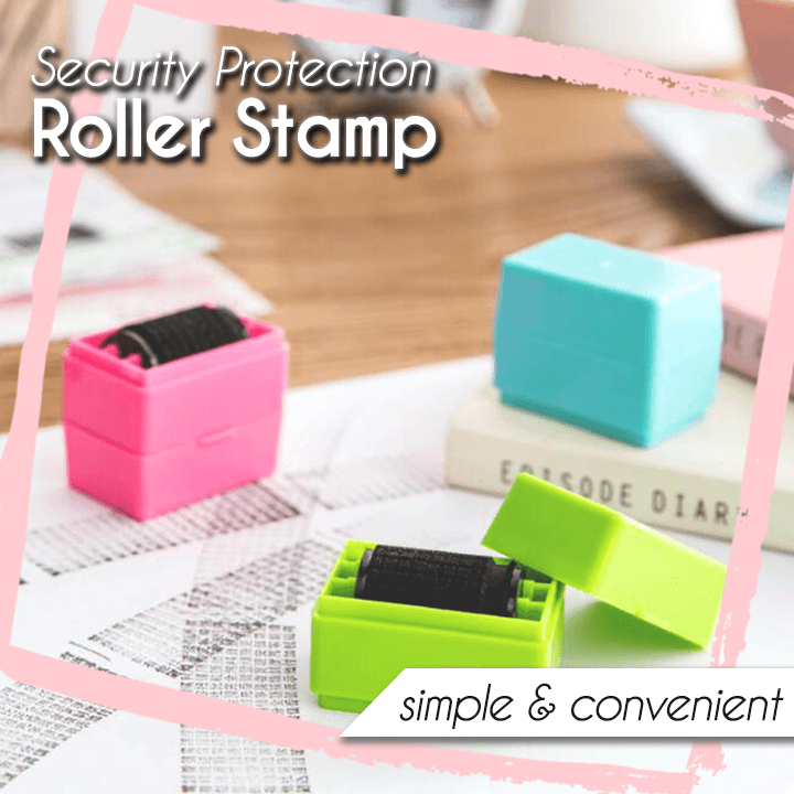 Security Protection Roller Stamp
