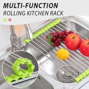 Multi-function Rolling Kitchen Rack