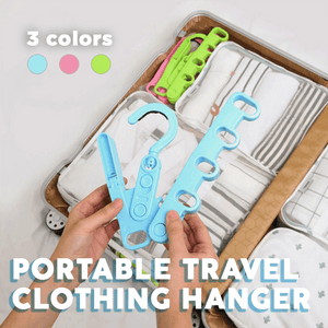 Portable Travel Clothing Hanger