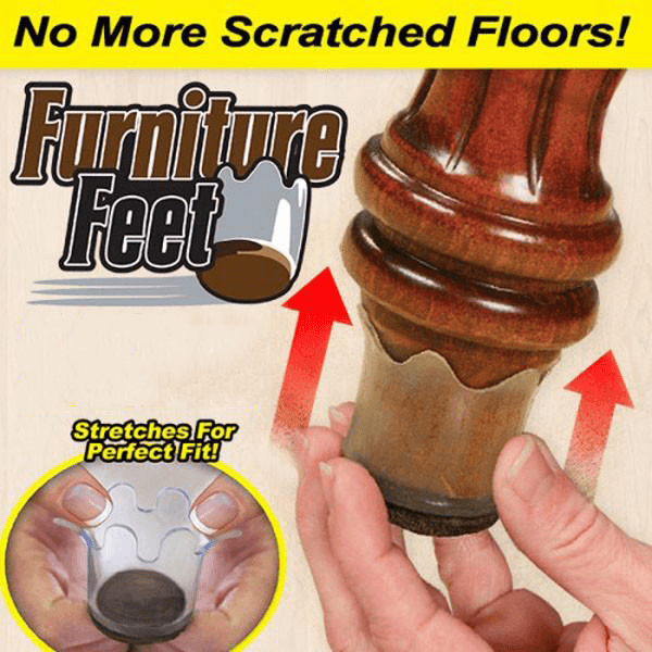 Furniture Feet Protector Pads (8 PCS) - Clevativity