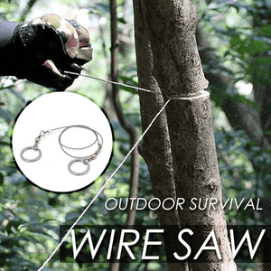 Outdoor Survival Wire Saw